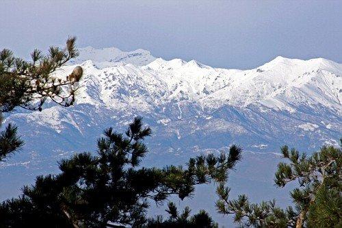 Da ovest verso est, con le Alpi alle spalle