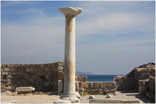 Basilica di Aghios Stefanos (resti)
