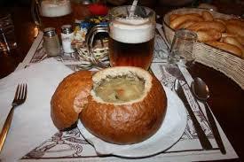 piatto e birra praga